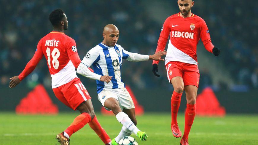 Soualiho Meïté, lors du match Porto-Monaco en décembre dernier