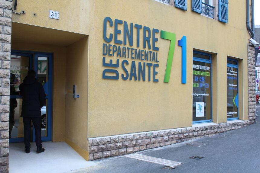 Le centre départemental de santé de Digoin