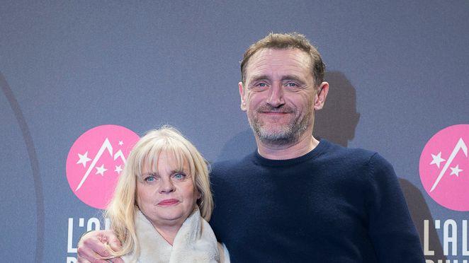Jeff (Jean-Paul Rouve)  et Cathy Tuche (Isabelle Nanty) au 21e Festival International du film de comédie de l'Alpe d'Huez (Isère)