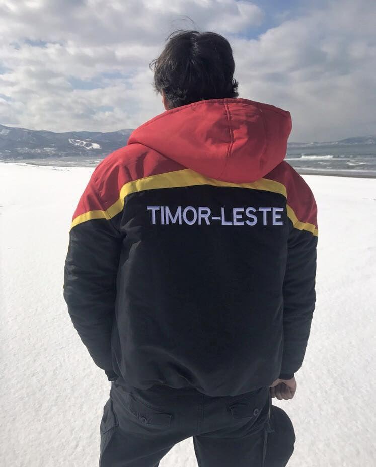 Yohan Goutt Goncalves, fier de représenter les couleurs du Timor aux JO - Aucun(e)
