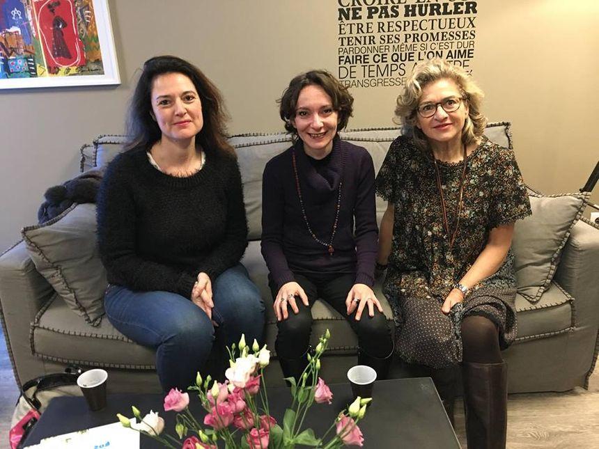 LA BANDE A SERVANE avec Stéphanie Briquel Manas, Aurore Monard et Caroline Robert
