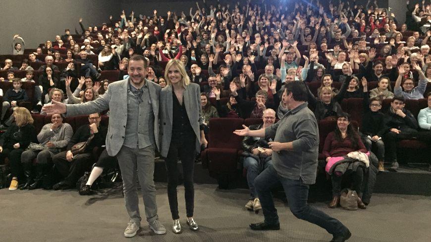 400 personnes ont assisté à la projection au cinéma Grand écran de Sainte-Eulalie.