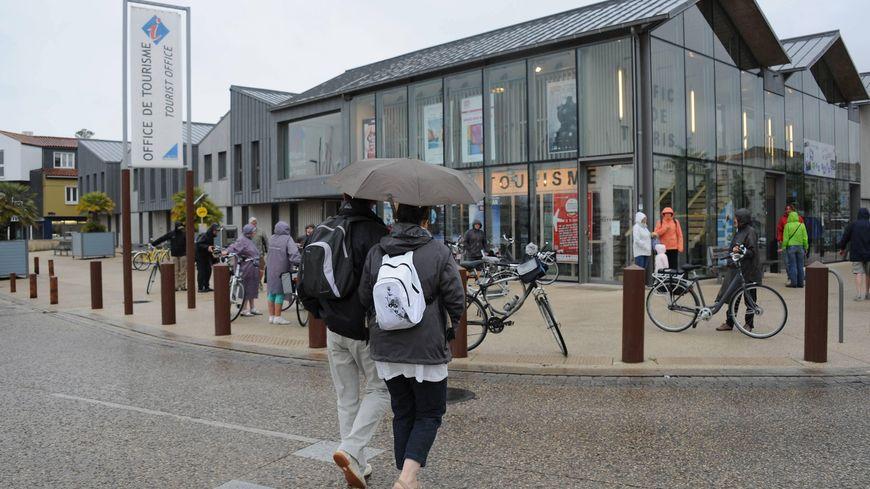 A La Rochelle, comme partout ailleurs sur les deux Charentes, les parapluies ont souvent été de sortie en janvier