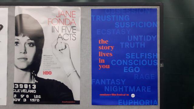 L'affiche du documentaire consacré à Jane Fonda présenté au festival de Sundance