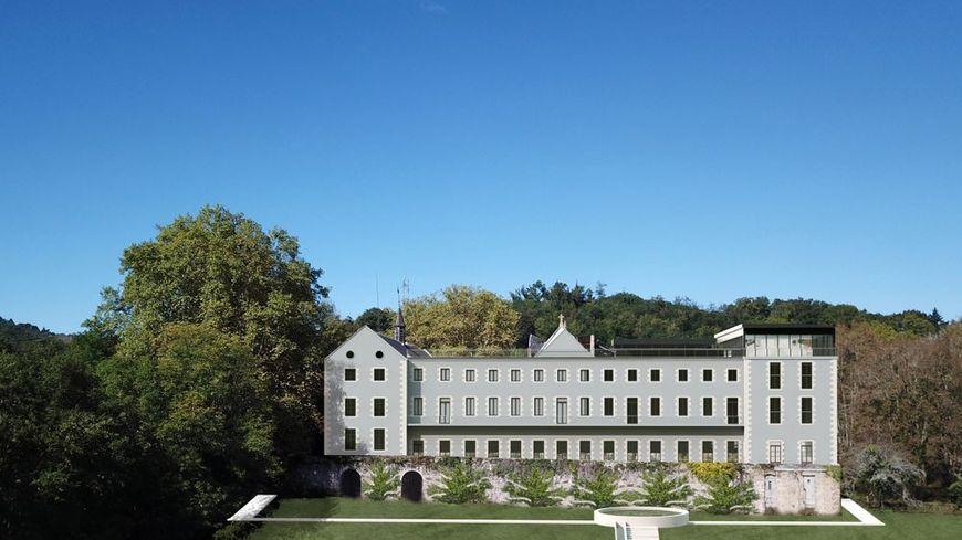 L'hôtel Désir d'Héméra redonnera sa splendeur à l'ancien séminaire de Notre-Dame-de-la-Cabanne.
