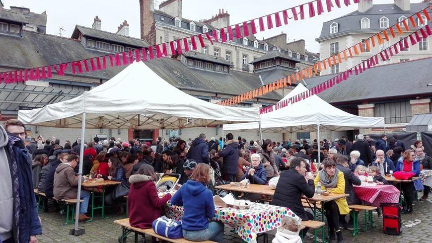 Le Marché à Manger de Rennes a pris ses quartiers aux Halles Centrales pour sa septième édition