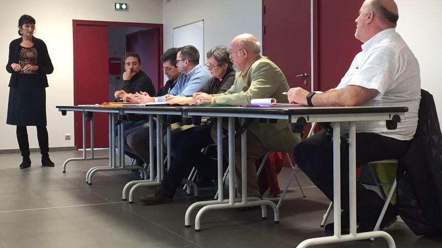 Sept associations se sont réunies en collectif départemental ce samedi, nommé SOS Eole 23.