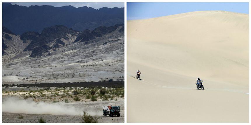 Le désert de Fiambala en Argentine et les dunes de Pisco, au Pérou, font rêver Nicolas Billaud