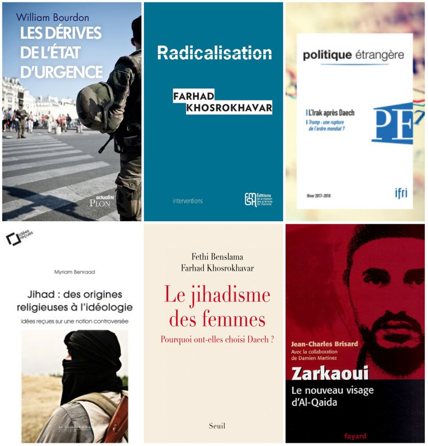 Publications de W. Bourdon, de F. Khosrokhavar, de M. Beraad et de J.-C. Brisard