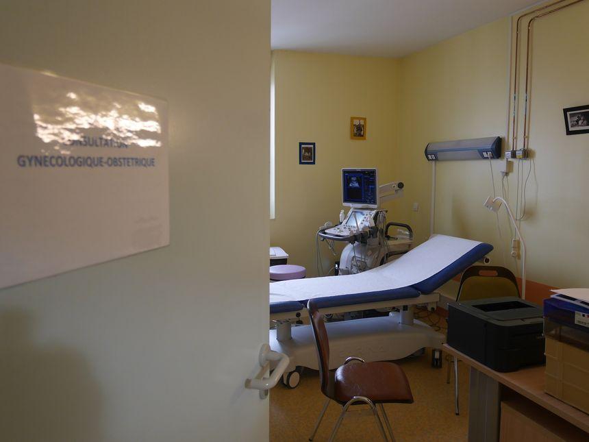 Salle de consultation au centre périnatal de Die