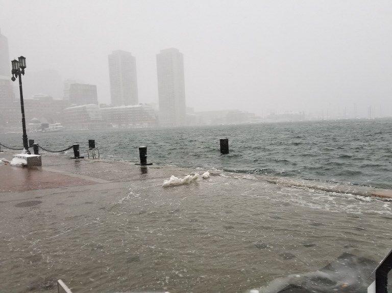 Boston inondée