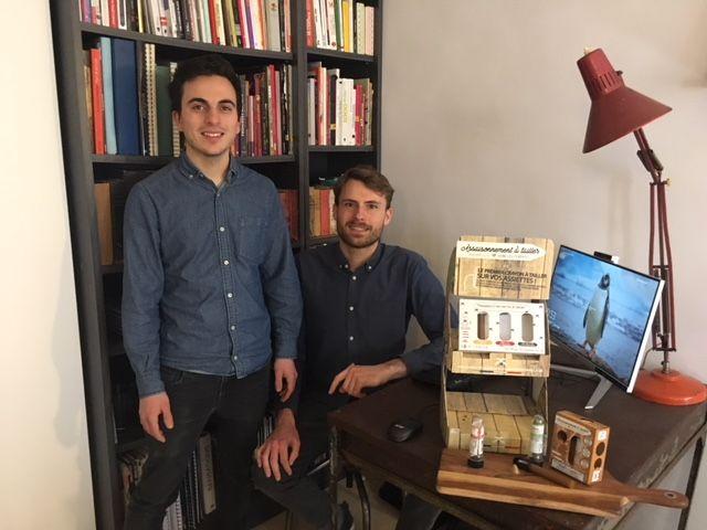 Tristan Cano et Benoît Le Guin, co-fondateurs d'OCNI Factory