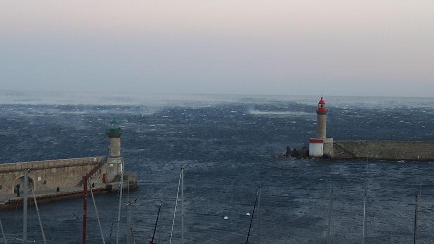 Les deux départements de Corse toujours placés en vigilance orange « vents violents et vagues – submersion »