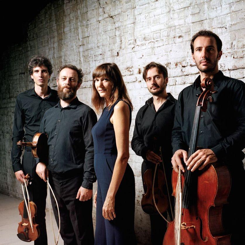 Elise Caron et le Quatuor Béla