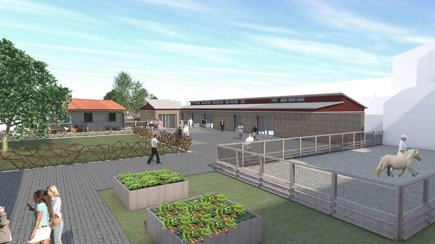 La ferme urbaine de calais accueillera une soixantaine d'animaux.