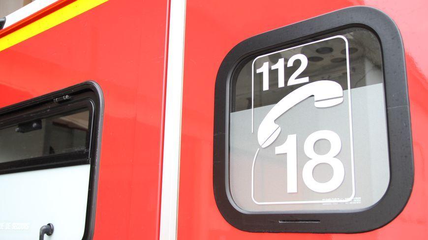 Les pompiers ont été appelés vers 6h ce lundi matin.