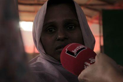 A quoi sert de parler quand personne ne vous entend ? Une jeune femme Rohingya