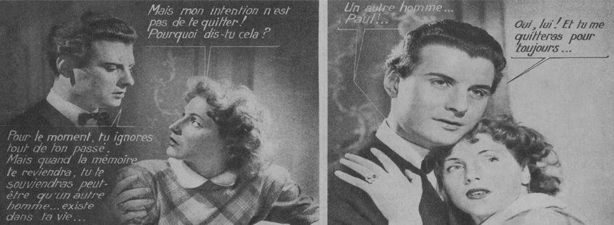 Extrait roman photo du magazine « Nous deux », 1951