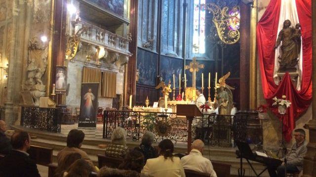 Les reliques de Jean-Paul II à la cathédrale Saint-Siffrein