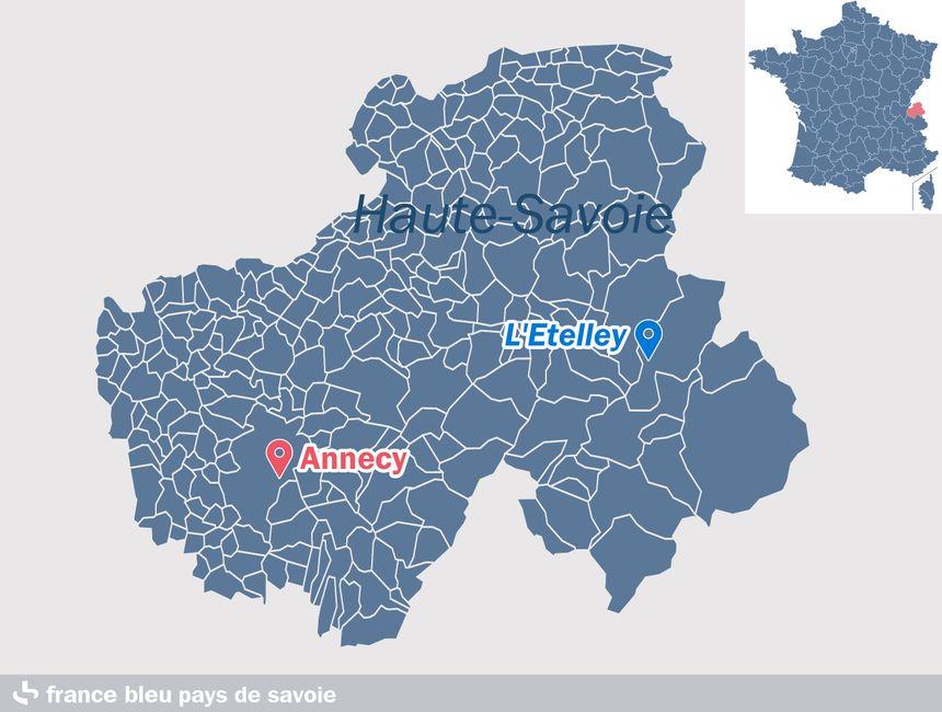 L'Etelley, sur la commune de Samoëns, en Haute-Savoie