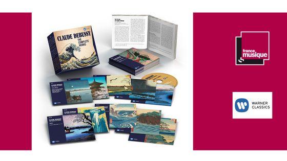 Claude Debussy : The Complete Works (coffret de 33 CD)