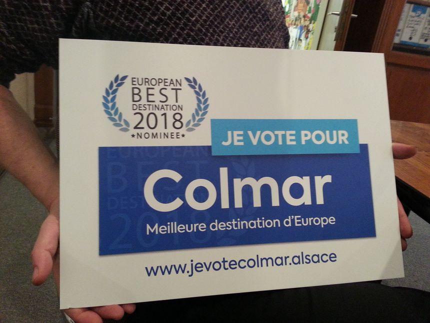 Un site spécialement dédidé pour voter pour Colmar