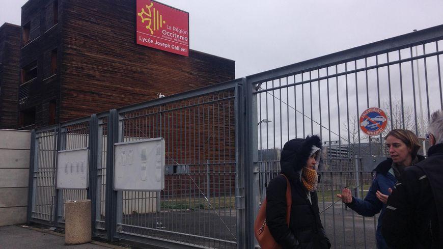Le lycée Gallieni accueille environ 1000 élèves