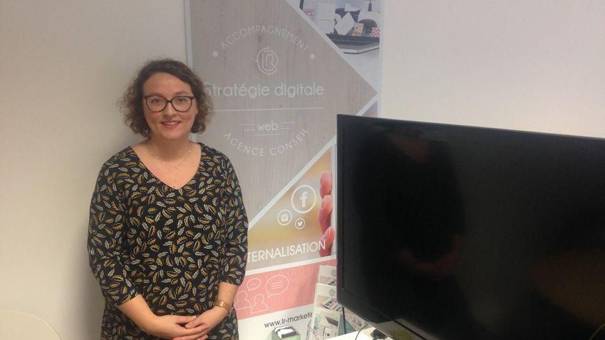 Marie Cueff a fondé son entreprise LR Marketing en 2012 à La Rochelle