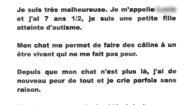 Les gendarmes tourangeaux ont été touchés par la lettre de cette petite fille de 7 ans