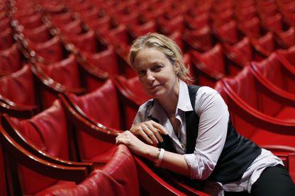 Irina Brook en janvier 2014 au Théâtre National de Nice