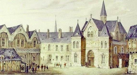 Le collège de Sorbonne au milieu du XVIe siècle