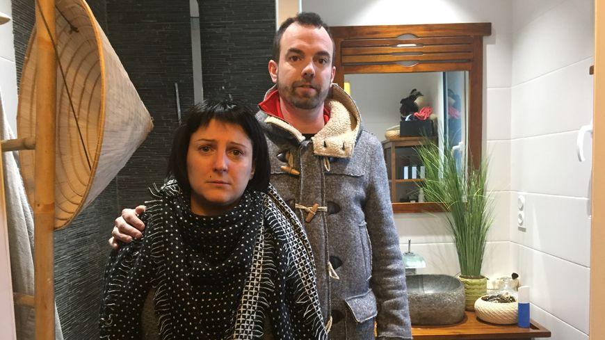 Julien et Marina Mahroug sont bouleversés par le saccage de leur maison
