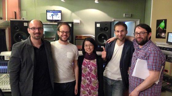 Enregistrement de « Ragtimes » de Fernando Garnero à Radio France pour l'émission Alla Breve avec l'ensemble L'Imaginaire.