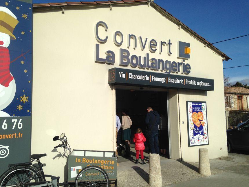 La boulangerie d'Eric Convert, à l'Isle-sur-la-Sorgue.