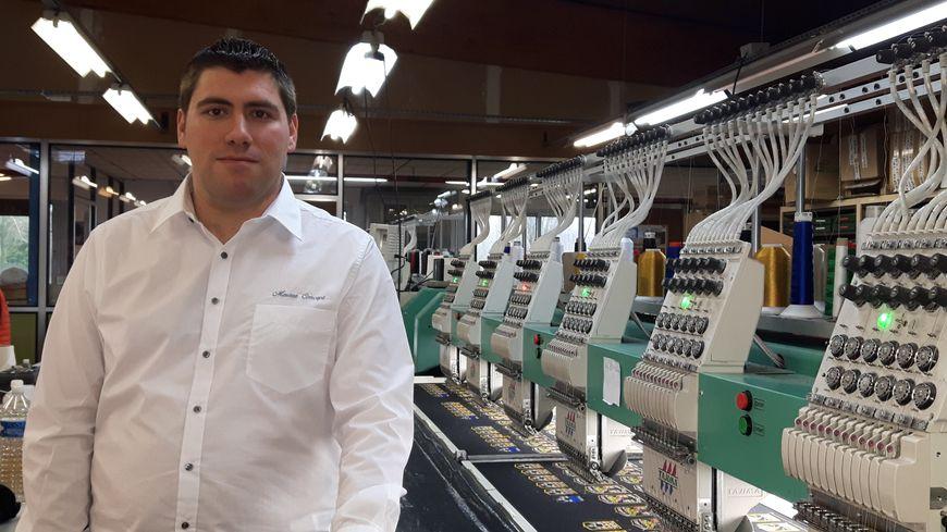 Jérémy Hourdeaux, nouveau patron de Méresse Concept