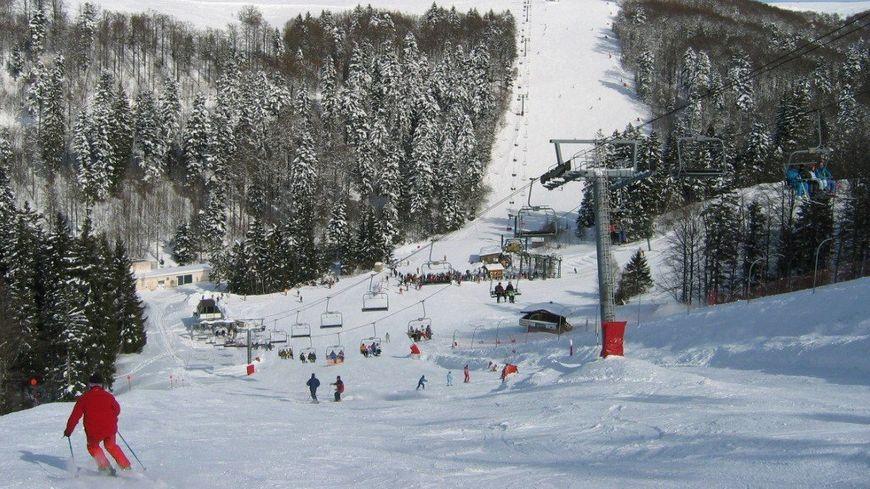La Bresse Hohneck, la plus grande station de ski du domaine vosgien