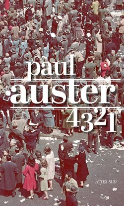 "Couverture ""4321"", Paul Auster"