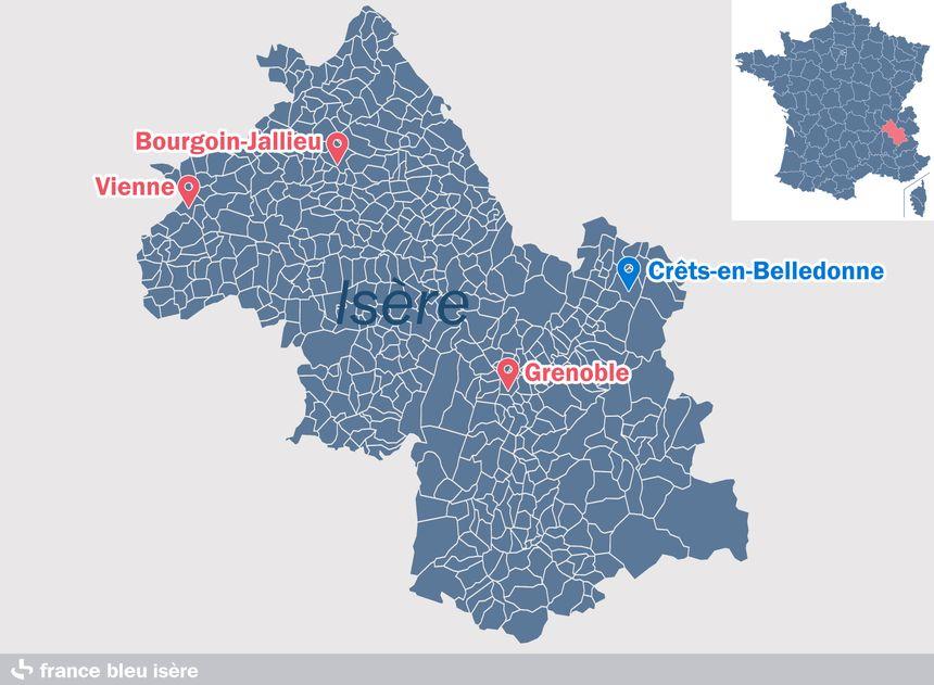 Crêts-en-Belledonne, en Isère