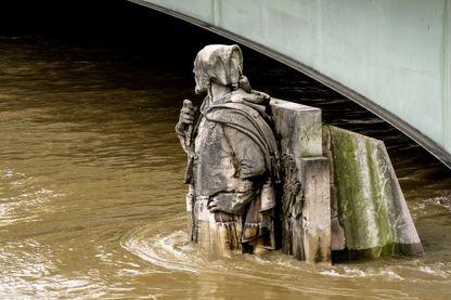 Inondation à Paris janvier 2018