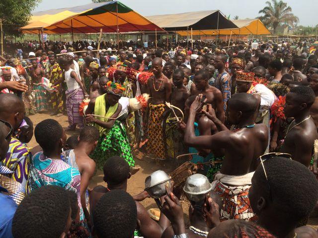 A Malanhoui, au Bénin, on célèbre le vaudou