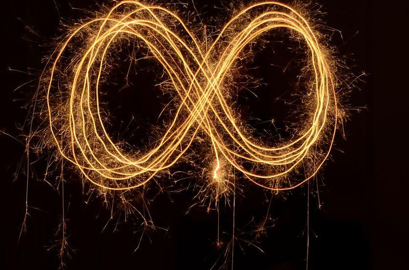 Il y a deux sortes d'infini, un infini dénombrable et un infini indénombrable.