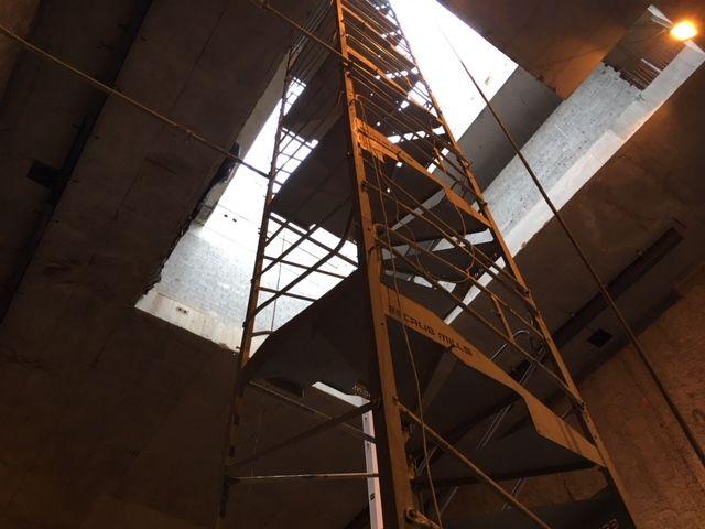 Puits de lumière de 25 mètres