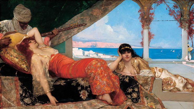 La Favorite de l'émir par Benjamin-Constant (1879)