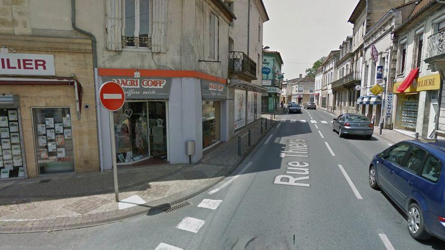 Le salon de coiffure Macri Coif rue Thiers a été cambriolé.