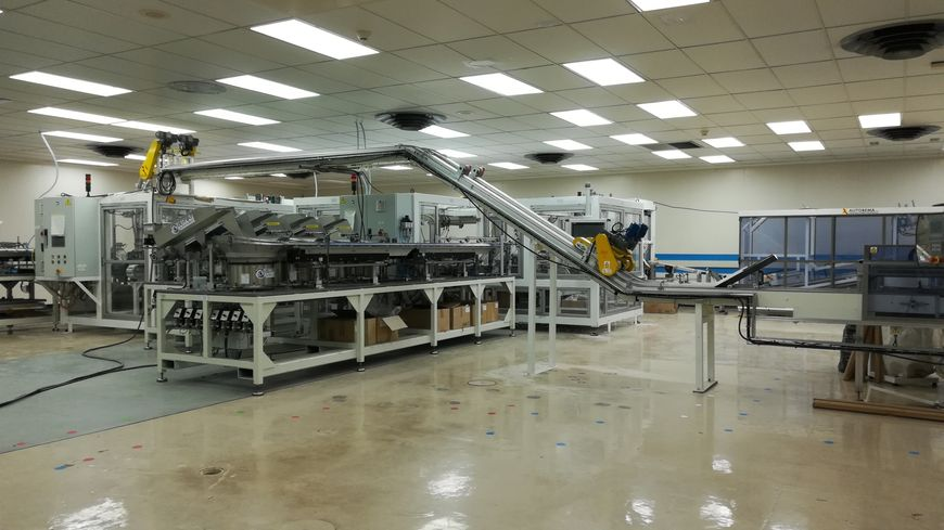 C'est cette machine qui doit produire les fameuses capsules de canettes refermables