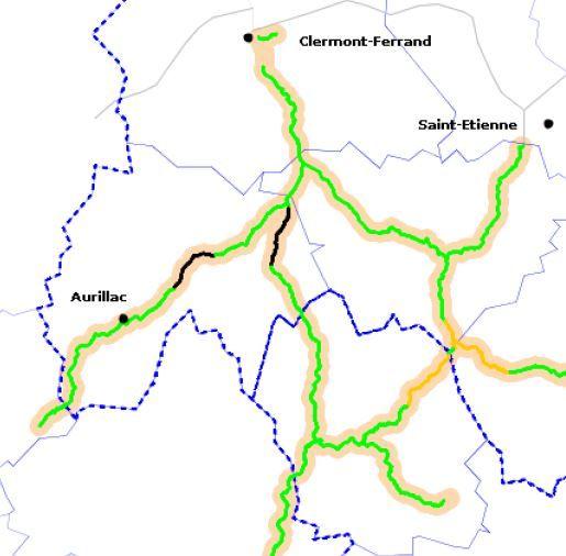 La neige sème le chaos sur les grands axes du Cantal