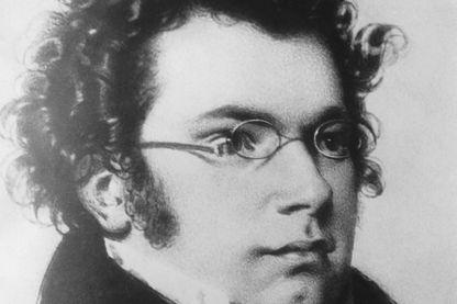 Portrait du compositeur autrichien Franz Schubert vers 1810.
