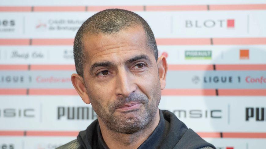 L'entraîneur du stade Rennais Sabri Lamouchi veut rester optimiste avant la réception du Paris SG