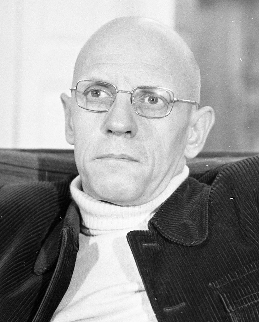 Michel Foucault par Jacques Sassier