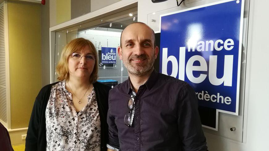 Véronique Enjolras et Bruno Tallaron